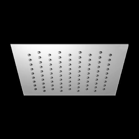 Omnires Ultra SlimLine Deszczownica prostokątna 20x20 cm, chrom WGU220/K
