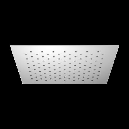 Omnires Ultra SlimLine Deszczownica prostokątna 25x25 cm, chrom WGU225/K