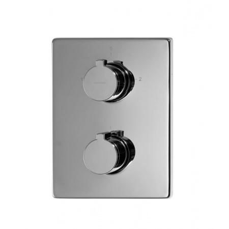 Omnires Y Bateria wannowo-prysznicowa podtynkowa z termostatem chrom Y1236/KCR