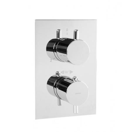 Omnires Y Bateria wannowo-prysznicowa podtynkowa z termostatem chrom Y1236/KMAXCR