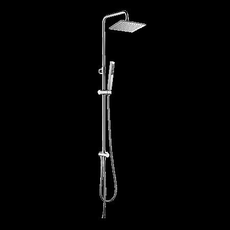 Omnires Y Zestaw prysznicowy natynkowy z deszczownicą 115 cm chrom SYSY/K