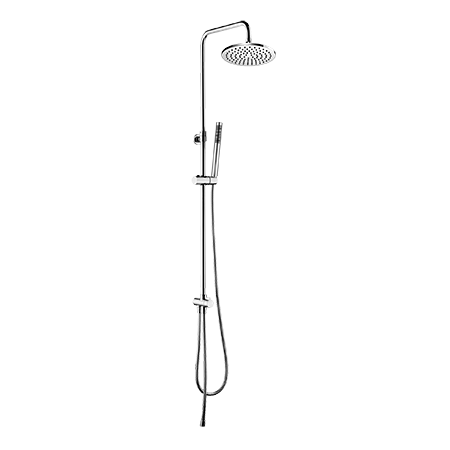 Omnires Y Zestaw prysznicowy natynkowy z deszczownicą 115 cm chrom SYSY