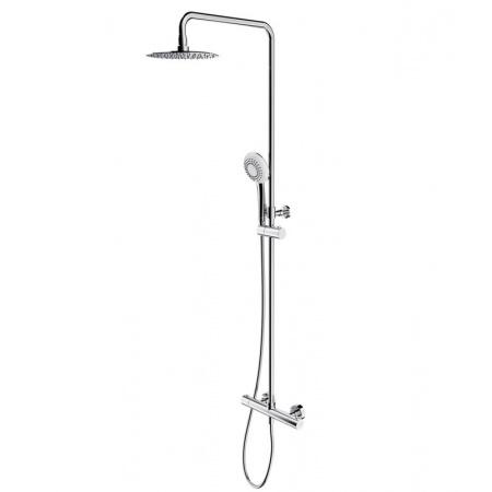 Omnires Y Zestaw prysznicowy natynkowy z termostatem chrom Y1244X/6CR