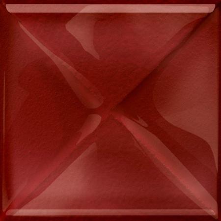 Opoczno Aranta Glass Red Inserto New Listwa dekoracyjna szklana 9,9x9,9x0,8 cm, czerwona błyszcząca OD660-109