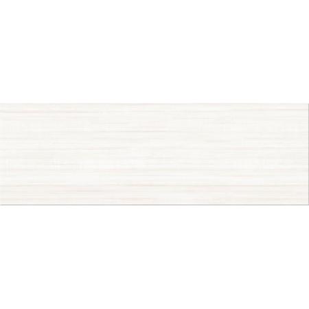 Opoczno Artistico Stripes White Płytka ścienna 25x75x1,05 cm, biała błyszcząca OP681-005-1