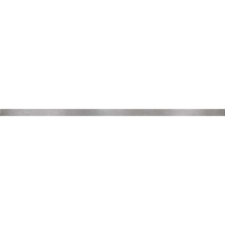 Opoczno Black Glamour Metal Matt Border Listwa dekoracyjna 2x59,3x1 cm, stalowa matowa OD957-005
