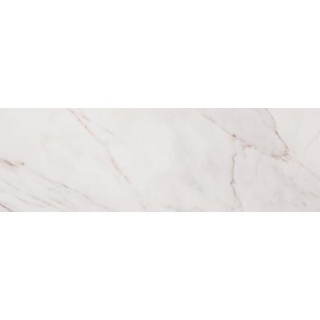 Opoczno Carrara Pulpis White Płytka ścienna 29x89x1,1 cm, biała błyszcząca OP471-001-1