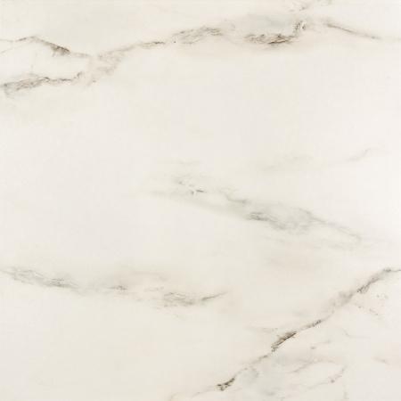 Opoczno Carrara White Płytka ścienna/podłogowa 59,3x59,3x1 cm, biała błyszcząca OP001-001-1