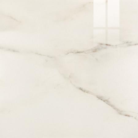 Opoczno Carrara White Polished Płytka ścienna/podłogowa 59,3x59,3x1 cm, biała błyszcząca OP001-002-1