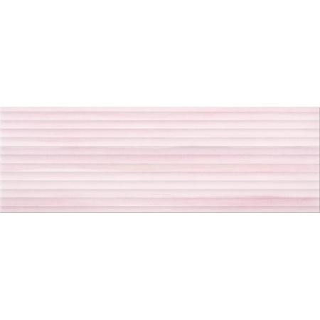 Opoczno Elegant Stripes Violet Structure Płytka ścienna 25x75x1,05 cm, fioletowa błyszcząca OP681-004-1