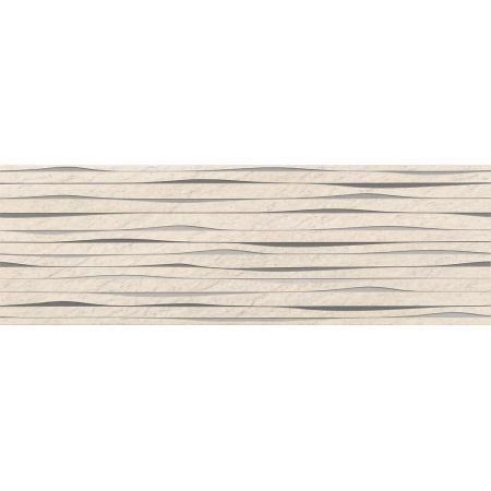 Opoczno Granita Inserto Stripes Listwa dekoracyjna 24x74x1 cm, beżowa matowa OD490-005