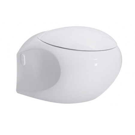 Opoczno High Street Toaleta WC podwieszana 57x40x37 cm z powłoką Perfect Clean, biała K110-002