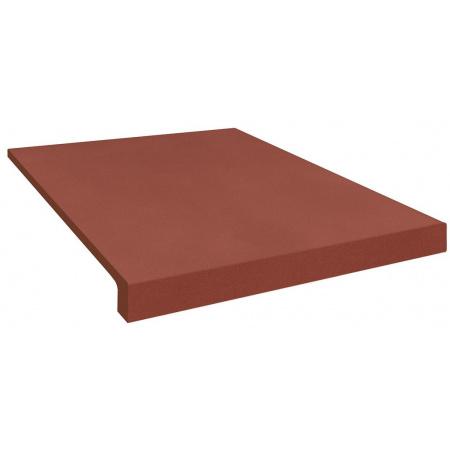 Opoczno Loft Red Prosty/Kap Loft Płytka elewacyjna 30x33x1,1 cm, czerwona matowa OD442-010-1