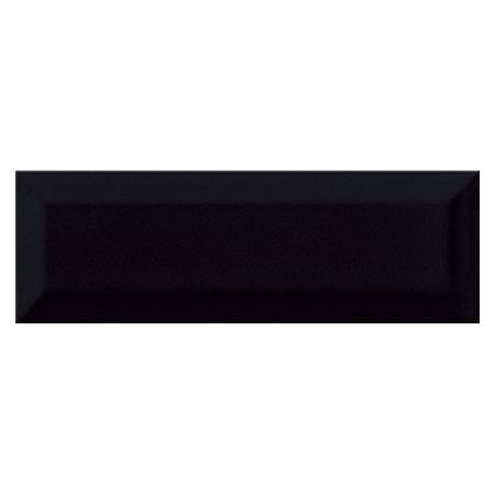 Opoczno Metro Style Black Płytka ścienna 9,8x29,8x0,95 cm, czarna matowa NT601-002-1