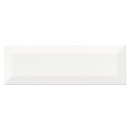 Opoczno Metro Style White Płytka ścienna 9,8x29,8x0,95 cm, biała błyszcząca NT601-001-1