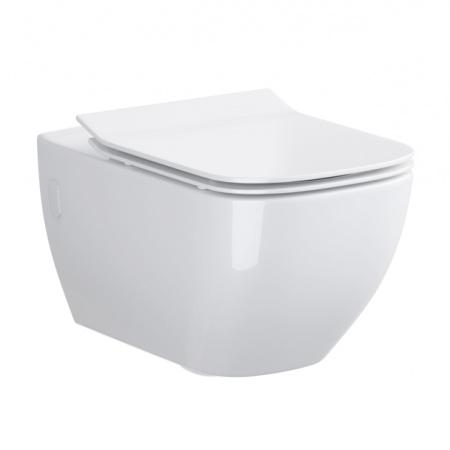 Opoczno Metropolitan Toaleta WC podwieszana 55,5x36 cm, biała OK581-003-BOX