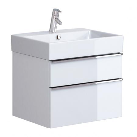 Opoczno Metropolitan Zestaw Umywalka meblowa 60,5x46 cm z szafką podumywalkową, biały OK581-006-BOX+OS581-005