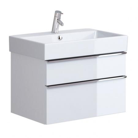 Opoczno Metropolitan Zestaw Umywalka meblowa 71x46,5 cm z szafką podumywalkową, biały OK581-005-BOX+OS581-004