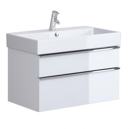 Opoczno Metropolitan Zestaw Umywalka meblowa 81x46,5 cm z szafką podumywalkową, biały OK581-004-BOX+OS581-003