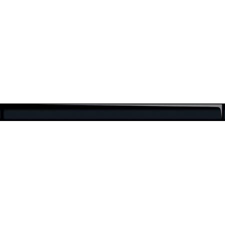 Opoczno Naturale Glass Black Border New Listwa dekoracyjna szklana 4,8x60x1 cm, czarna błyszcząca OD660-010