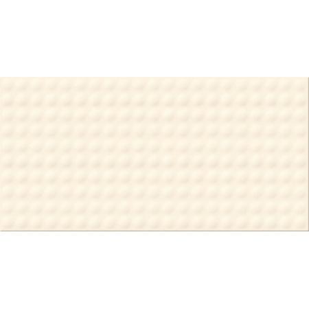Opoczno Origami Dune Pulse Vanilla Glossy Structure Płytka ścienna 29,7x60x0,9 cm, waniliowa błyszcząca OP658-021-1