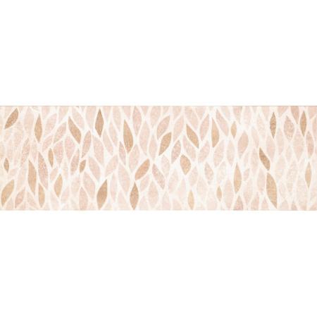 Opoczno Pret-A-Porter Ravina Beige Inserto Geo Listwa dekoracyjna 25x75x1,05 cm, beżowa błyszcząca OD438-001