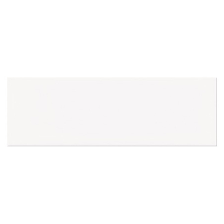 Opoczno Salsa White Glossy Płytka ścienna 9,8x29,8x0,8 cm, biała błyszcząca NT932-001-1