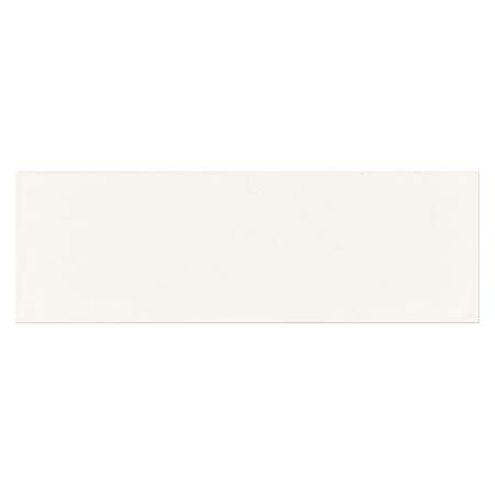 Opoczno Salsa White Matt Płytka ścienna 9,8x29,8x0,8 cm, biała matowa NT932-007-1