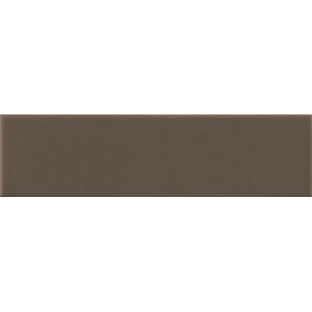 Opoczno Simple Brown Pdstop Płytka elewacyjna 14,8x30x1,1 cm, brązowa matowa OP078-005-1
