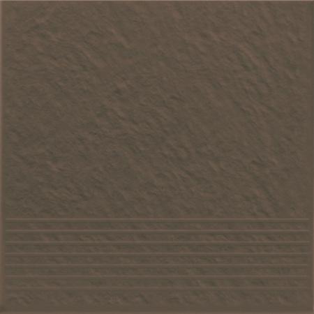 Opoczno Simple Brown Stop 3-D Płytka elewacyjna 30x30x1,1 cm, brązowa matowa OP078-008-1