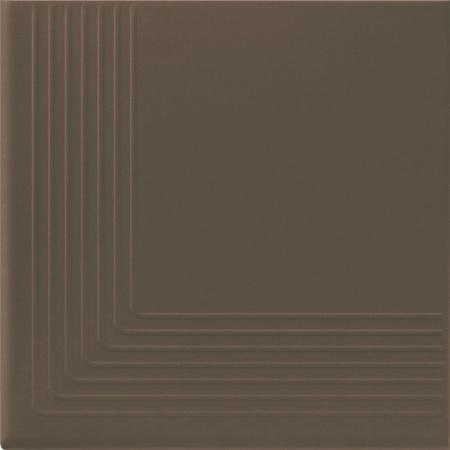 Opoczno Simple Brown Stop Nar Płytka elewacyjna 30x30x1,1 cm, brązowa matowa OP078-009-1