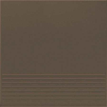 Opoczno Simple Brown Stop Płytka elewacyjna 30x30x1,1 cm, brązowa matowa OP078-007-1