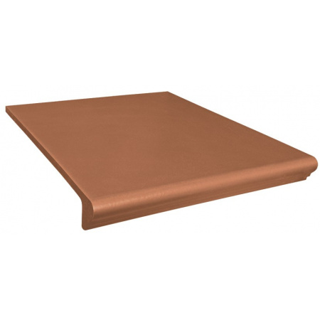 Opoczno Simple Red Prosty/Kap Płytka elewacyjna 30x33x1,1 cm, brązowa matowa OD078-048-1