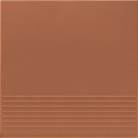 Opoczno Simple Red Stop Płytka elewacyjna 30x30x1,1 cm, czerwona matowa OP078-017-1