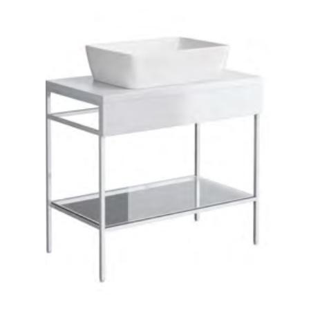Opoczno Splendour Konsola 79,9x45x73,2 cm, biała S923-012