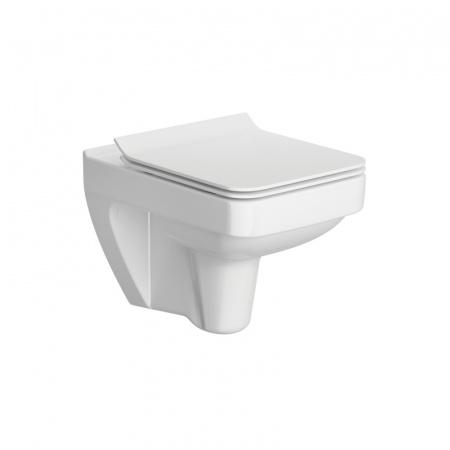 Opoczno Splendour Toaleta WC podwieszana 54,5x35x37,5 cm CleanOn bez kołnierza, biała K40-003
