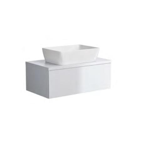 Opoczno Splendour Szafka z blatem 79,7x44,8x30,8 cm, biała S923-010