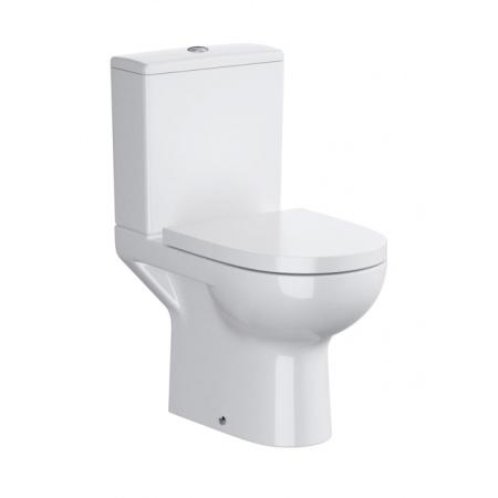 Opoczno Street Fusion Muszla klozetowa miska WC kompaktowa z doprowadzeniem wody z boku, biała OK579-010