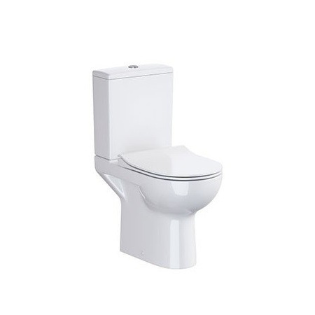 Opoczno Street Fusion Toaleta WC kompaktowa 65,5x36 cm CleanOn bez kołnierza, biała OK579-011