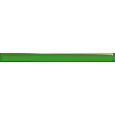Opoczno Universal Glass Decorations Glass Light Green Border New Listwa dekoracyjna szklana 4,8x60x1 cm, jasnozielona błyszcząca OD660-003