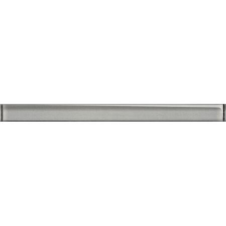 Opoczno Universal Glass Decorations Glass Silver Border New Listwa dekoracyjna szklana 4,8x60x1 cm, srebrna błyszcząca OD660-013