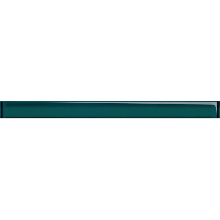 Opoczno Universal Glass Decorations Glass Turquoise Border New Listwa dekoracyjna szklana 4,8x60x1 cm, turkusowa błyszcząca OD660-004