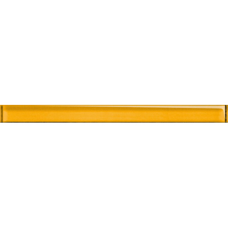 Opoczno Universal Glass Decorations Glass Yellow Border New Listwa dekoracyjna szklana 4,8x60x1 cm, żółta błyszcząca OD660-002