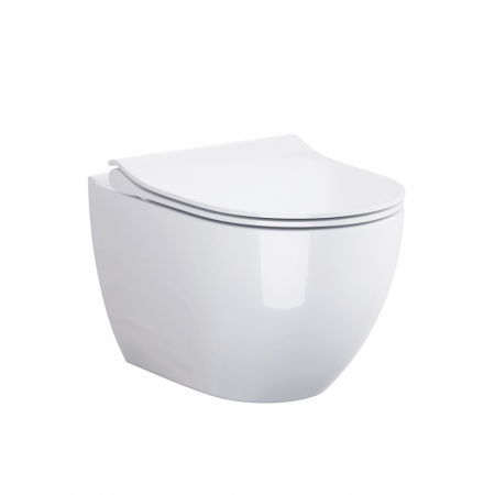 Opoczno Urban Harmony Toaleta WC podwieszana 50x36 cm CleanOn bez kołnierza z ukrytym mocowaniem, biała K109-054