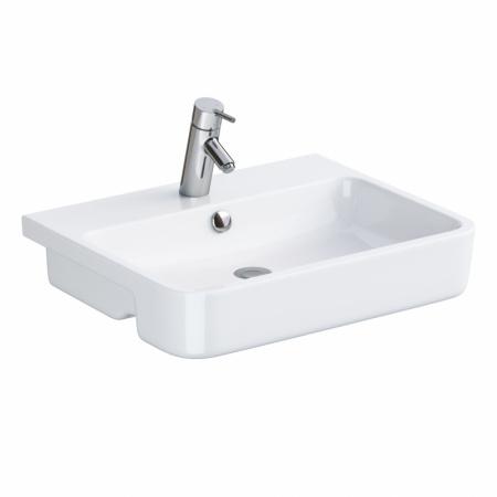Opoczno Urban Harmony Umywalka półblatowa 56x45 cm, biała K109-022