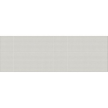 Opoczno White Magic Platinum Inserto Flower Listwa dekoracyjna 25x75x1,05 cm, szara błyszcząca OD334-011