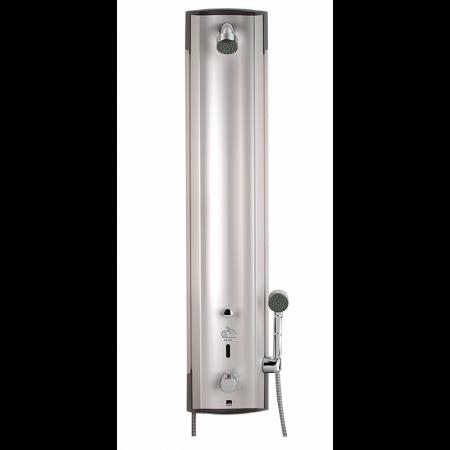 Oras Electra Bezdotykowy panel prysznicowy termostatyczny 12V, aluminium/chrom 6662FT