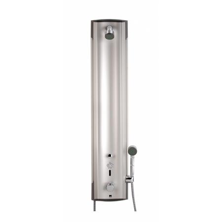 Oras Electra Bezdotykowy panel prysznicowy termostatyczny 12V, aluminium/chrom 6662F
