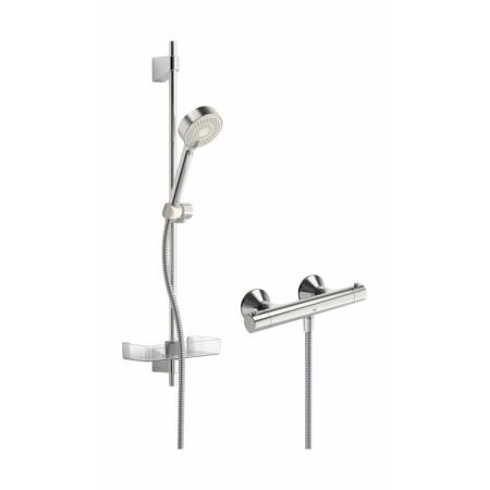 Oras Safira Zestaw prysznicowy natynkowy z baterią termostatyczną, chrom 1349U