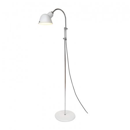 Original BTC Ginger Lampa stojąca 153x51 cm IP20 E27 GLS, biała FF084W